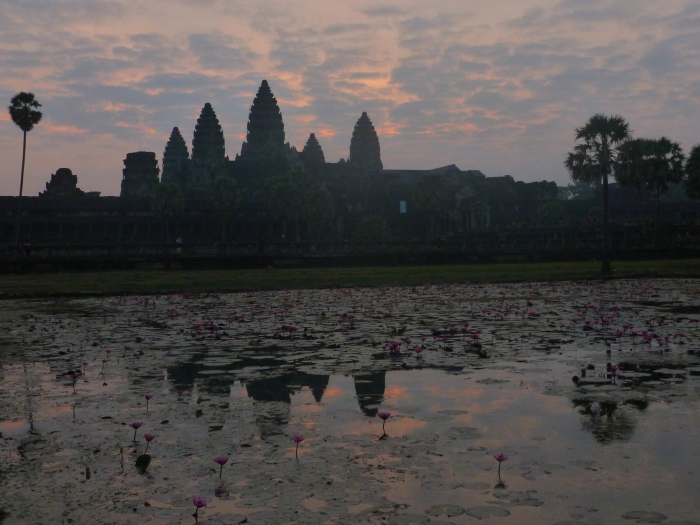 I spent a week in Cambodia and saw sunrise at Angkor Wat