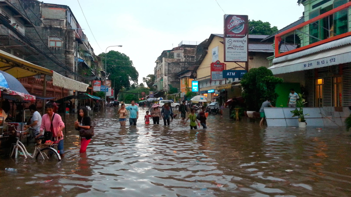 I experienced flooding a couple of times in Phnom Penh