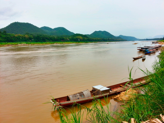 I survived a speedboat ride down the Mekong River in Laos