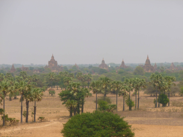 I spent ten days in Myanmar (Burma) and saw a ton of the ancient Buddhist temples of Bagan