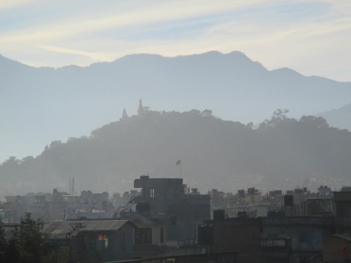 I returned to Nepal and spent a couple of months in Kathmandu