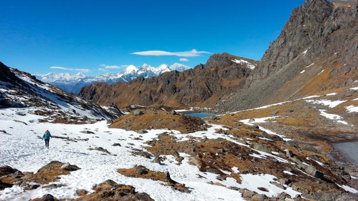 I went trekking in the Langtang Himalaya