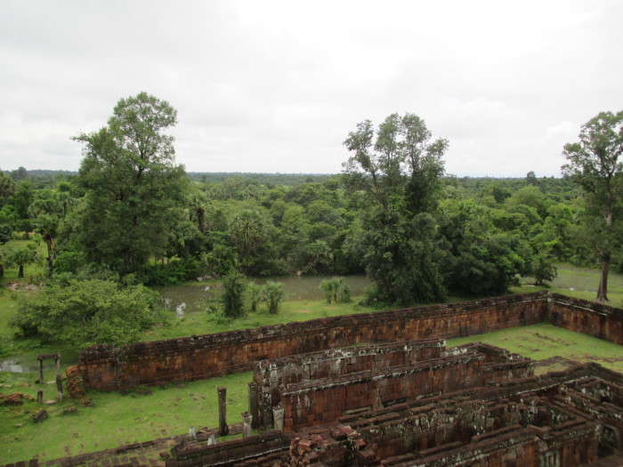 The jungle from the top of Pre Rup