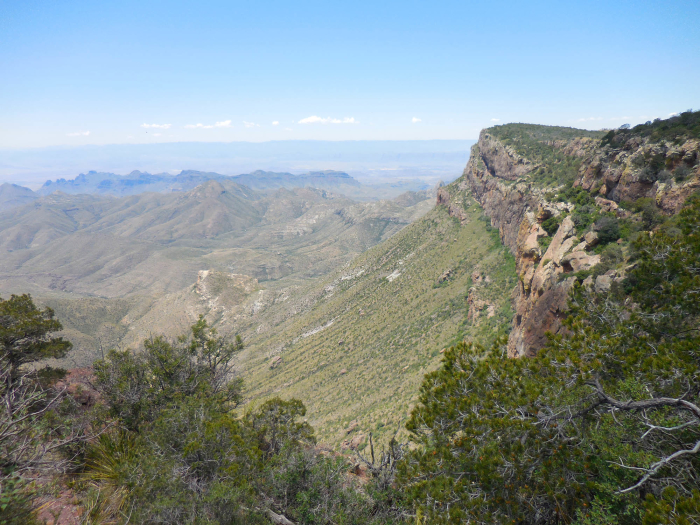 The South Rim escarpment
