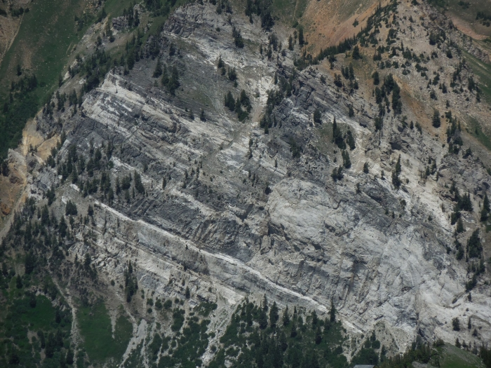 Hellgate, a popular rock climbing area near Alta