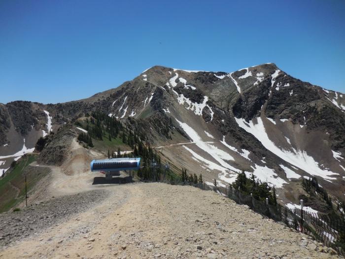 The Hidden Peak tram and Twin Peaks