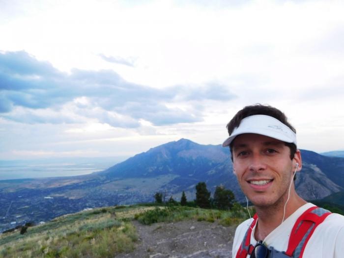Eyrie Peak selfie